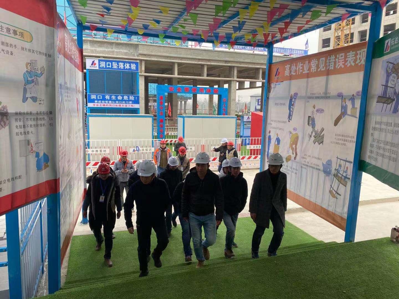 热烈欢迎中南集团领导观摩团莅临我司中南·海棠集项目